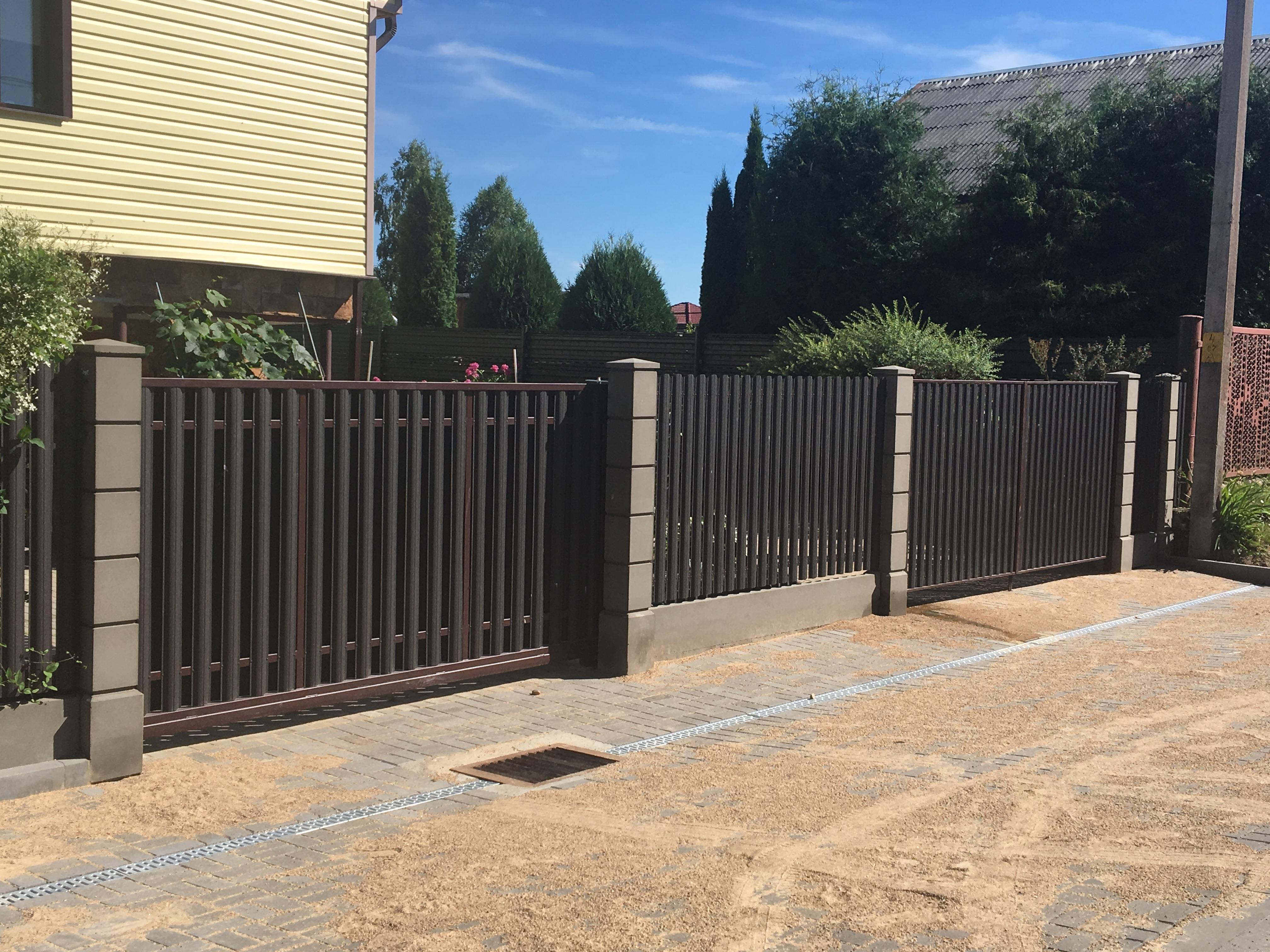 Забор из прессованного бетона купить еби бетон